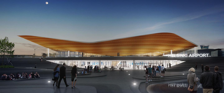 Helsinki Airport T2 visualisation 06 plaza 0