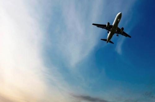 Plane sky