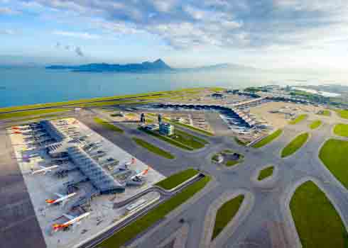 HK aerial